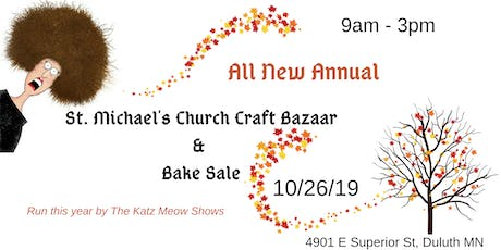 St. Michael's Annual Church Craft Bazaar and Bake Sale  tickets