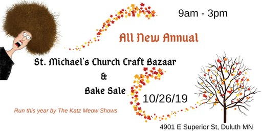 St. Michael's Annual Church Craft Bazaar and Bake Sale