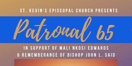 St. Kevin's Patronal 65 Anniversary Celebration tickets