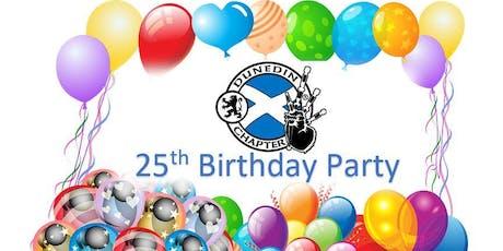 Dunedin Chapter - 25th Birthday Party!  tickets