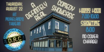 8/22 - A Definitely Real Comedy Showcase