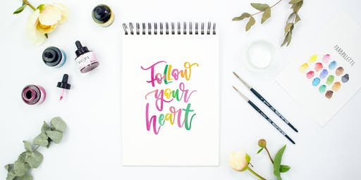 Workshop Watercolor Lettering