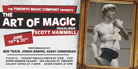 The Art of Magic with headliner Scott Hammell tickets
