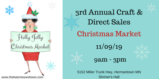 3rd Annual Holly Jolly Craft & Direct Sales Christmas Market
