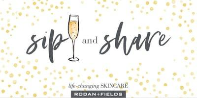 Rodan and Fields Sip n' Share