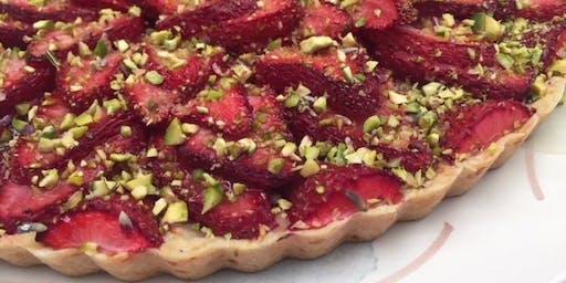 Vegan French Baking & Wine Pairing Class: Sweet & Savory Tarts & Galettes