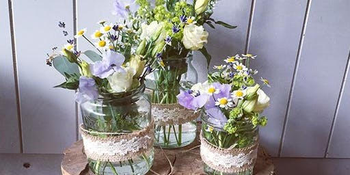 Jam Jars and Corsages