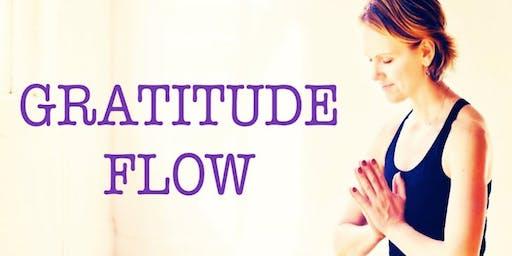 August Free Community Gratitude Slow Flow to Yin w/ Patricia