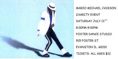 Mario Michael Jackson Tribute Show tickets