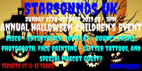 Starsounds UK Annual Halloween Party tickets