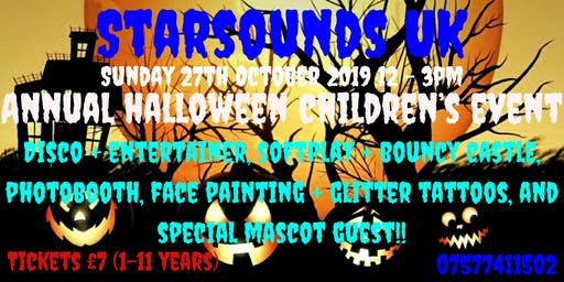 Starsounds UK Annual Halloween Party