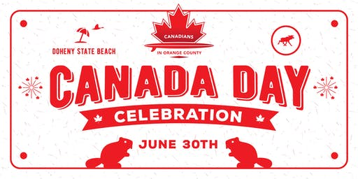 Canada Day 2019 at the Beach