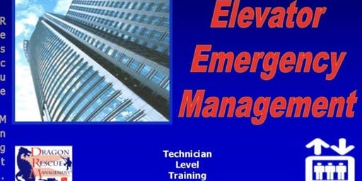 Elevator Emergency Management - Technician Level - November 6, 2019