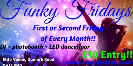 Funky Fridays tickets