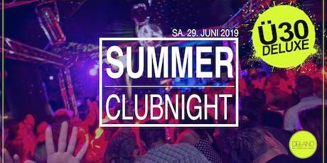 Ü30 DELUXE SUMMER PARTY @DELANO WEINHEIM Tickets