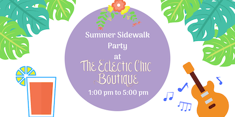 Summer Sidewalk Party tickets