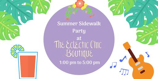Summer Sidewalk Party