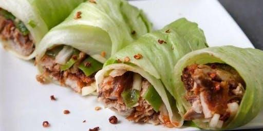 Kind of a Pig Deal: Pork Lettuce Wraps