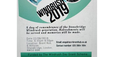 Windrush 2019 tickets