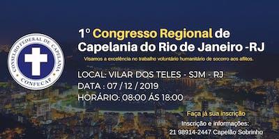 1º Congresso Regional de Capelães do Rio de Janeiro - RJ