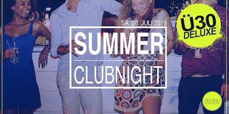 Ü30 Deluxe Summer Clubnight @Delano Weinheim Tickets