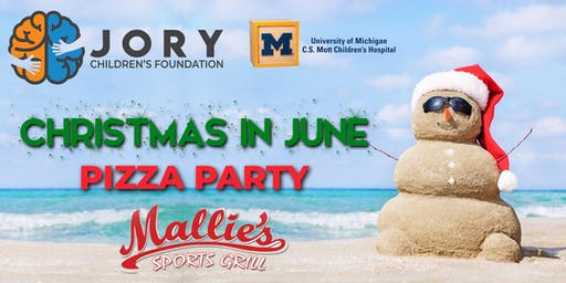 "JORY ""Christmas in June"" Pizza Party"