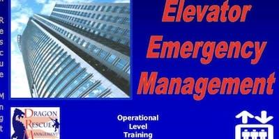 Elevator Emergency Management - Awareness Level - November 4, 2019