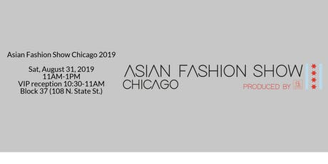 Asian Fashion Show Chicago 2019 tickets