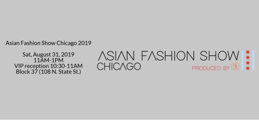 Asian Fashion Show Chicago 2019