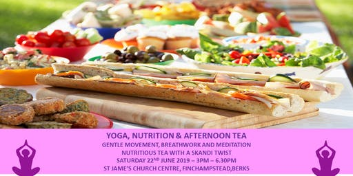 Yoga, Nutrition & Afternoon Tea