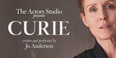 CURIE written and performed by Jo Anderson tickets