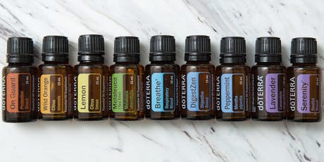 Natural Solutions with DoTERRA Essential Oils- Online class tickets