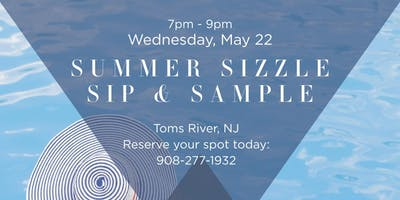Summer Sizzle Sip & Sample