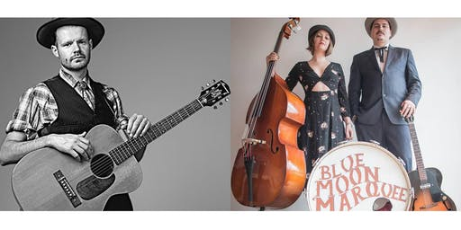 Roots and Blues Double Bill with Blue Moon and Ryan McNally
