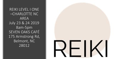 Reiki Level 1 & 2 class Training- Charlotte NC Area