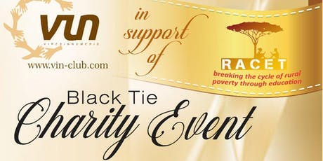 VIN Club Black Tie Charity Ball in Support of RACET tickets