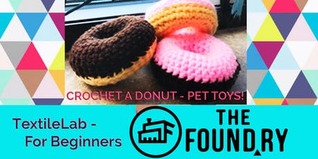 Crocheting for Beginners  - Donut Pet Toys tickets