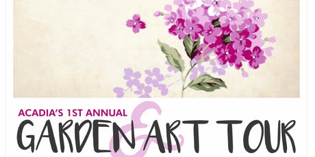 Garden and Art Tour tickets