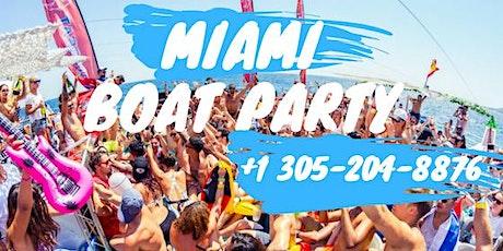 Booze Cruise Miami Party boat tickets