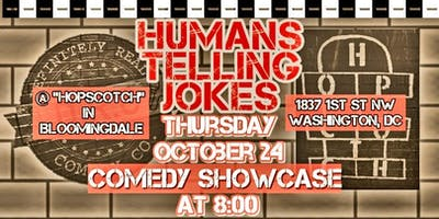 10/24 - HumansTelliingJokes at Hopscotch