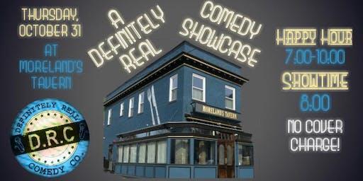 10/31 - A Definitely Real Comedy Showcase