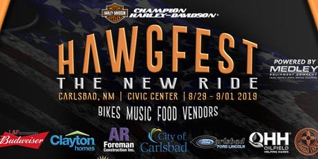 Hawgfest - The New Ride - VIP tickets