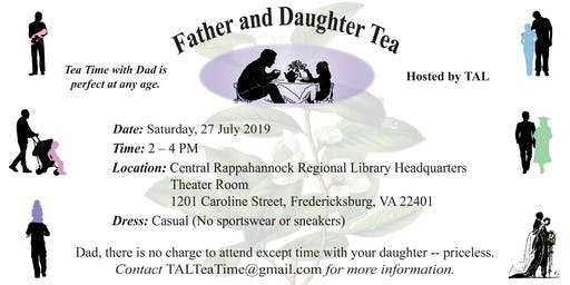 Father and Daughter Tea