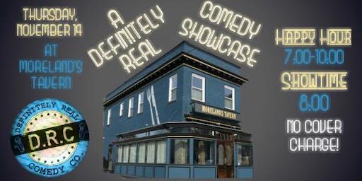 11/14 - A Definitely Real Comedy Showcase