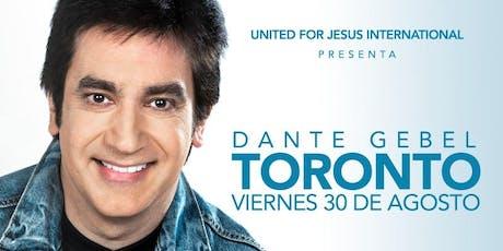 """Dante Gebel """"Autentico"""" Toronto Canada  tickets"""