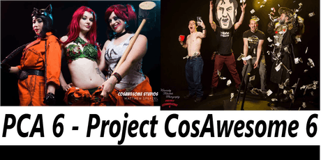 Project CosAwesome 6 - PCA6 - 2019 July 11-14th.   tickets