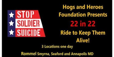 Hogs and Heroes Foundation Presents The Ride to Keep Them Alive - Seaford tickets