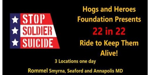 Hogs and Heroes Foundation Presents The Ride to Keep Them Alive - Annapolis