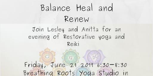 Balance Heal Renew