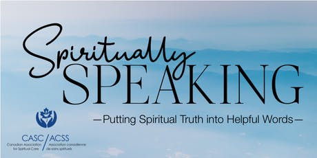 Spiritually Speaking tickets